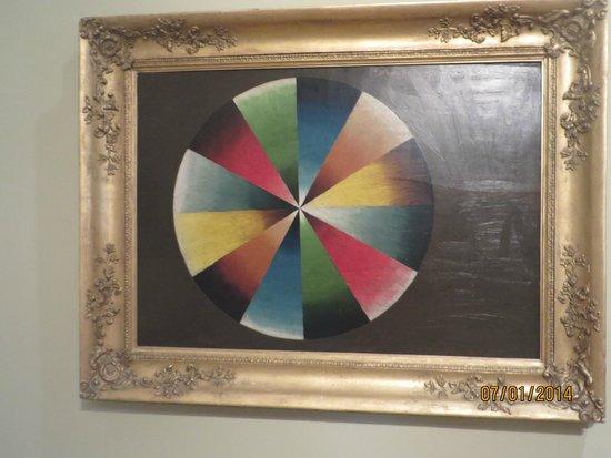 Thomas Cole National Historic Site: Thomas Cole's color wheel