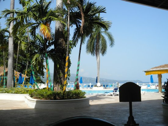 Sunscape Splash Montego Bay : View from the lobby