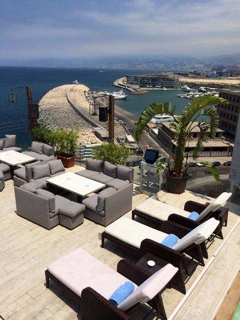 Warwick Palm Beach Hotel: Roof lounge