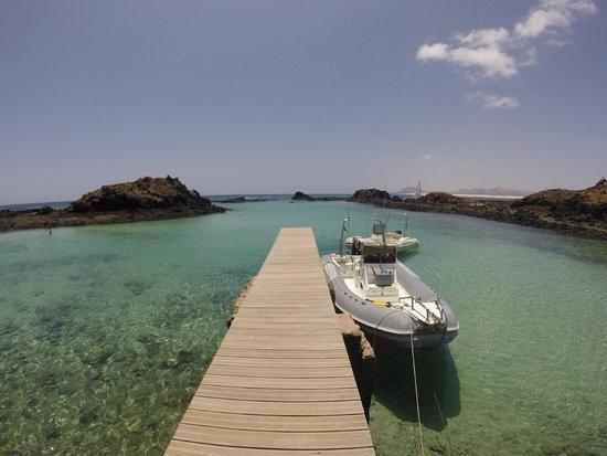Barcelo Fuerteventura Thalasso Spa : ïle de Lobos