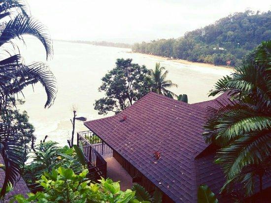 Baan Krating Khao Lak : วิวทะเล
