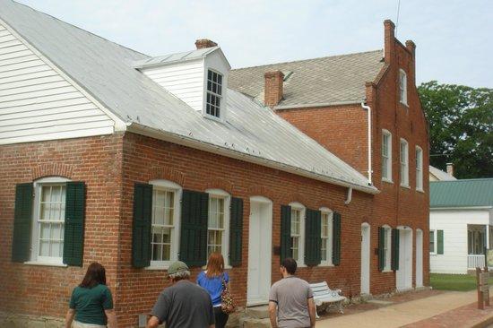 Deutschheim State Historic Site: house with original furnishings