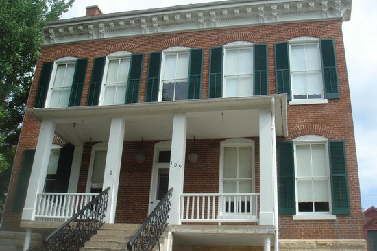 Deutschheim State Historic Site: one of the houses