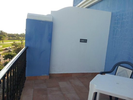 Playaballena Spa Hotel: terrasse