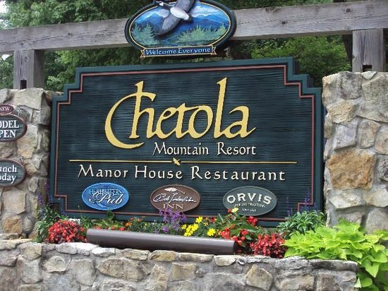 Chetola Resort at Blowing Rock: Entrance to Chetola Resort, Blowing Rock, NC
