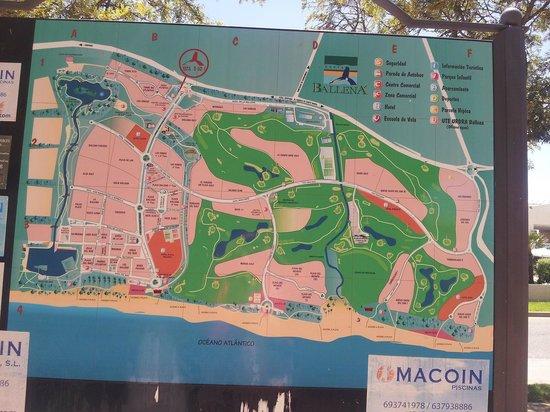 Playaballena Spa Hotel : Plan de l'urbanisation de Playa Ballena