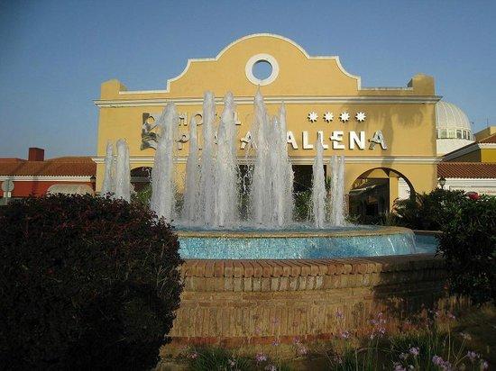 Playaballena Spa Hotel : l'Entrée de l'hôtel