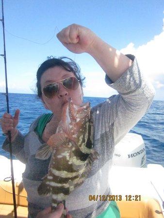 Villa Patricia: Awesome Fishing!