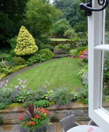 Old Shoulder of Mutton : view from the garden room