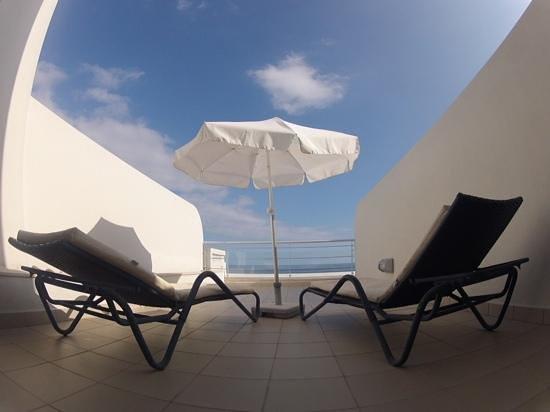 Melia Madeira Mare Resort & Spa: terraza