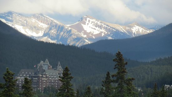 The Juniper Bistro: Banff Springs Hotel, view from the patio