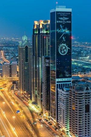 Rose Rayhaan by Rotana - Dubai : Aussicht aus der 44.Etage