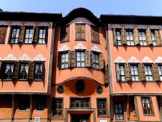 "Plovdiv Old Town: maison style ""éveil national"""