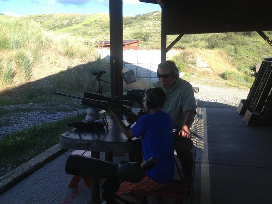 "Jackson Hole Shooting Experience : Private lesson with Shepard - ""It was the BEST! EVER!!"""