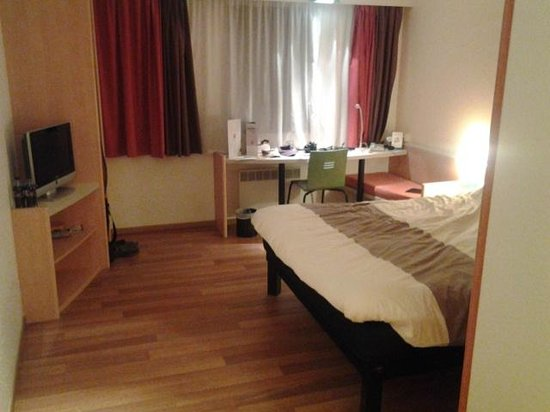 Ibis Gent Centrum St-Baafs Kathedraal: mooi hotel kamer