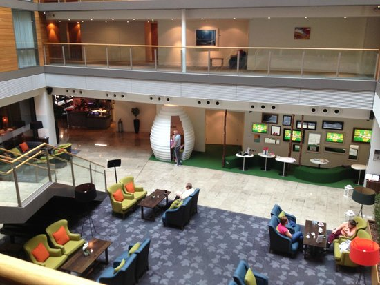 Clarion Hotel Cork: Lobby / Kids area