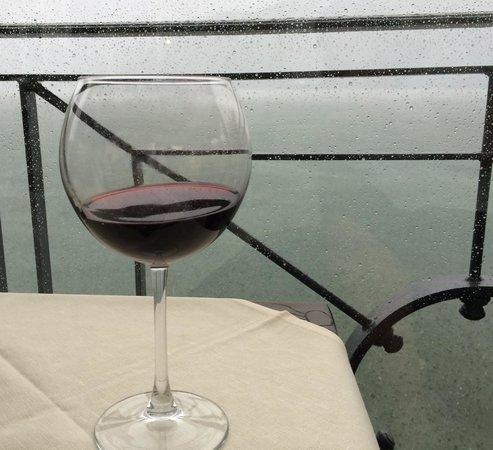 Albergo Ristorante Plinio : Dry in the Storm