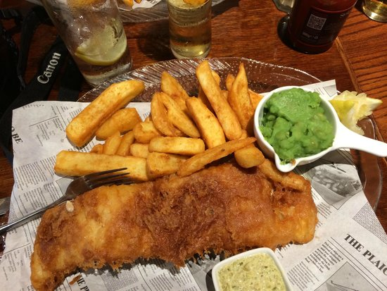 Royal Castle Hotel : Five Star Fish and Chips