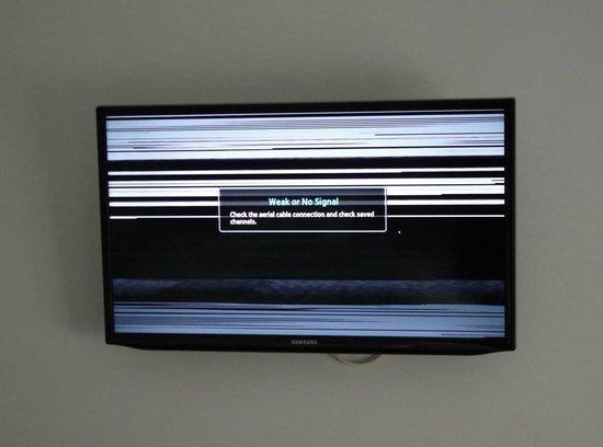 Copenhagen Airport Hotel / Dragor Badehotel : Der Fernseher
