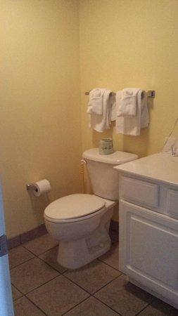 Paradise Resort: Bathroom - Oceanfront Deluxe King Bedroom Suite