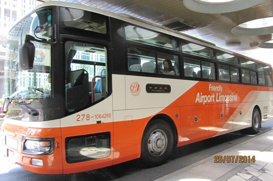 Keio Plaza Hotel Tokyo : Airport Limo