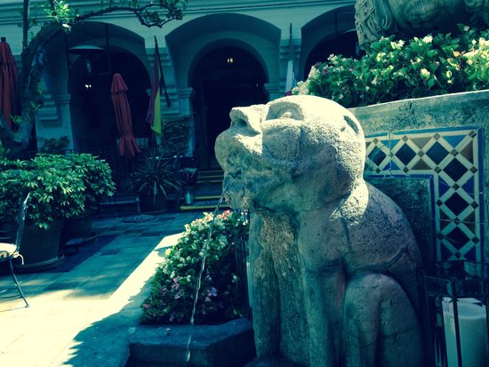 The Mission Inn Hotel and Spa : Courtyard