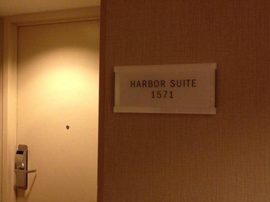 Hyatt Regency Pier Sixty-Six: Harbor Suite