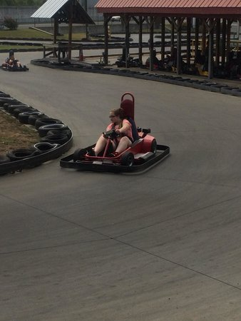 Grand Old Golf, Games & GoKarts: Having fun!!