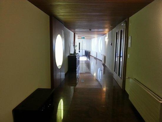 Hotel Le Bristol: В коридорах отеля