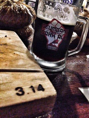 Brew 3.14: Geymgang Dark lager!