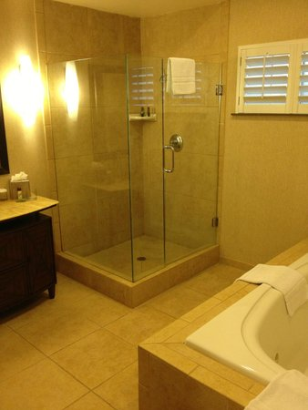 Embassy Suites by Hilton Mandalay Beach Resort: Master bath