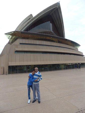 Sydney Opera House: At Opera house
