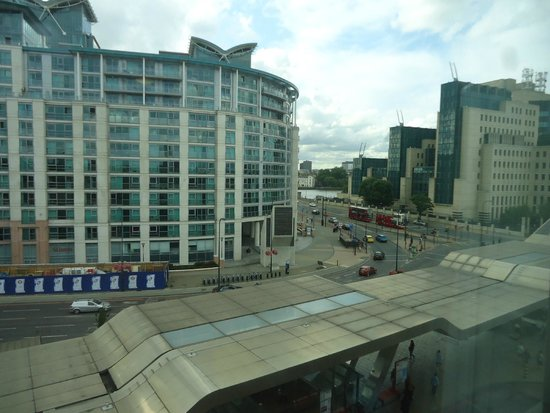 Travelodge London Vauxhall Hotel: View from 5th floor