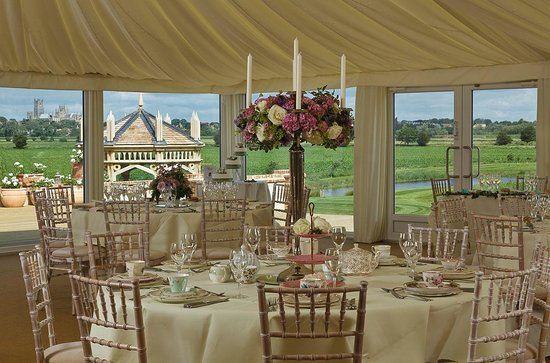 The Old Hall Bed & Breakfast: Wedding Marquee