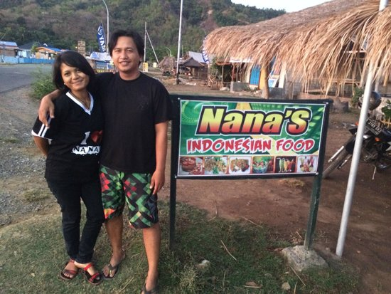 Nana's Restaurant : Nana herself