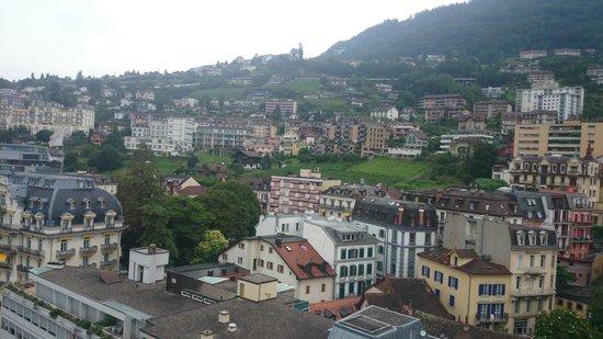 Eurotel Riviera Montreux: Vista da varanda