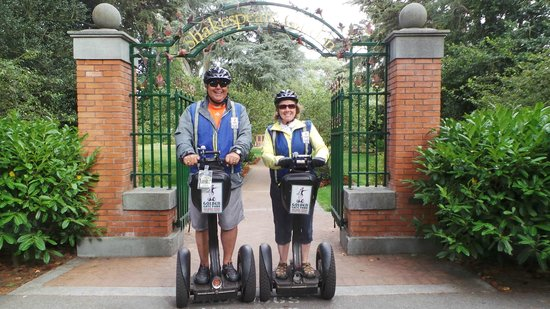 Electric Tour Company Segway Tours: Golden Gate Park - Shakespeare Gate
