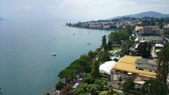 Eurotel Riviera Montreux: Vista do quarto