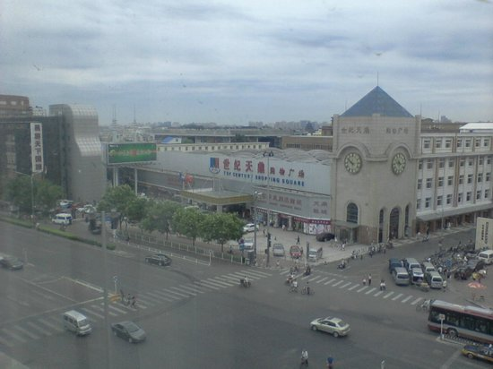 Jingtailong International Hotel: Street view from window