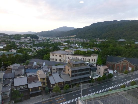 The Westin Miyako Kyoto : View from our room over Sanjo Dori