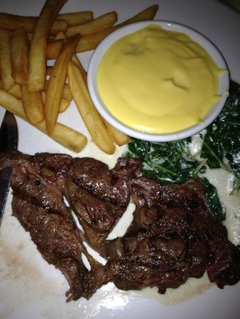 The Sun: Rib Eye (Bearnaise?)