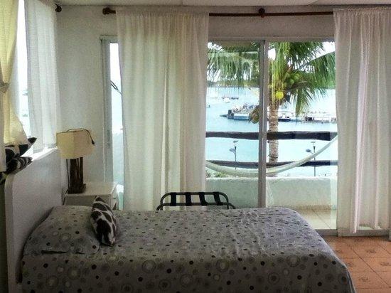 Casa Opuntia Galapagos: Habitación frente al mar...!