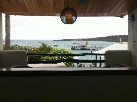 Casa Opuntia Galapagos: En el segundo piso hay una pequeña sala para descansar..