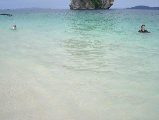 Poda Island: บริเวณเกาะ