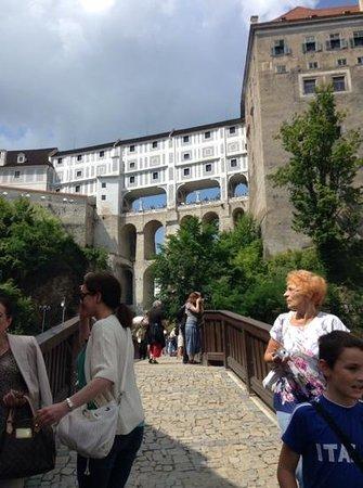 Historic Center of Cesky Krumlov: wonderful bridges