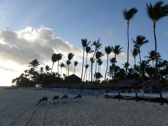 Bavaro Princess All Suites Resort, Spa & Casino: пляж (вечер)