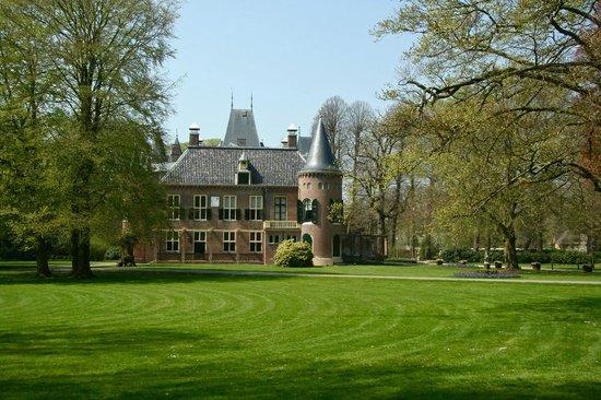 Lisse, Niederlande: Backside Keukenhof Castle