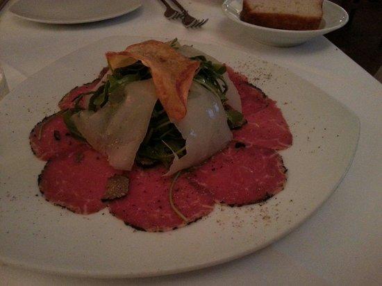 ef16 Restaurant Weinbar: Carpaccio