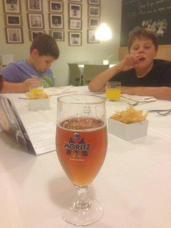 RESTAURANT COS: bière catalane excellente