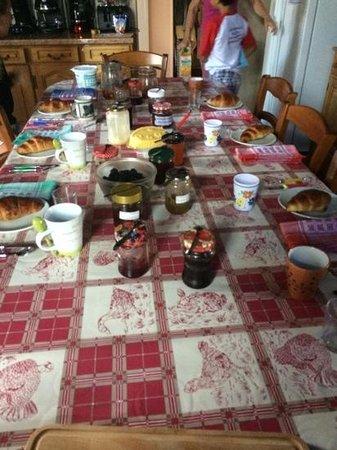 Berrychone Chambres d'Hotes : het ontbijt